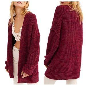 NWT Free People High Hopes Cardi Sweater